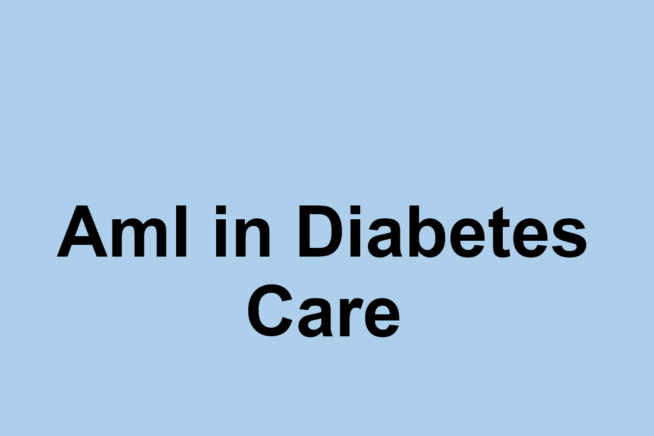 Ambient Intelligence as a support to chronic diseases: a proposal for diabetes caring