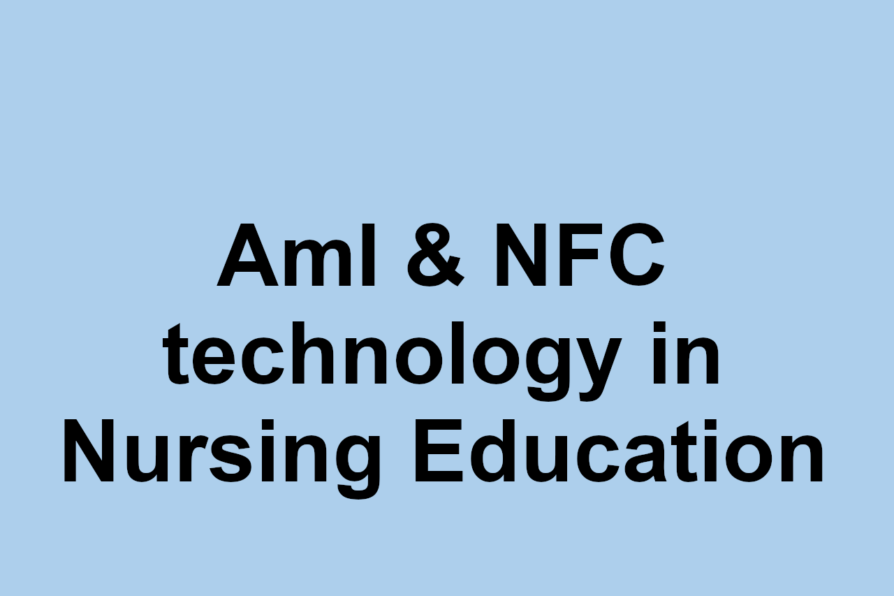 Ambient Intelligence in an Educational Context: a proposal for technological adaptability of NFC in Nursing Education